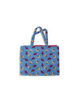Вышитая сумочка с цветочными мотивами многоцветный.