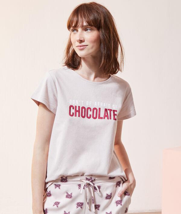 """Футболка """"Не бойся шоколада"""";${refinementColor}"""