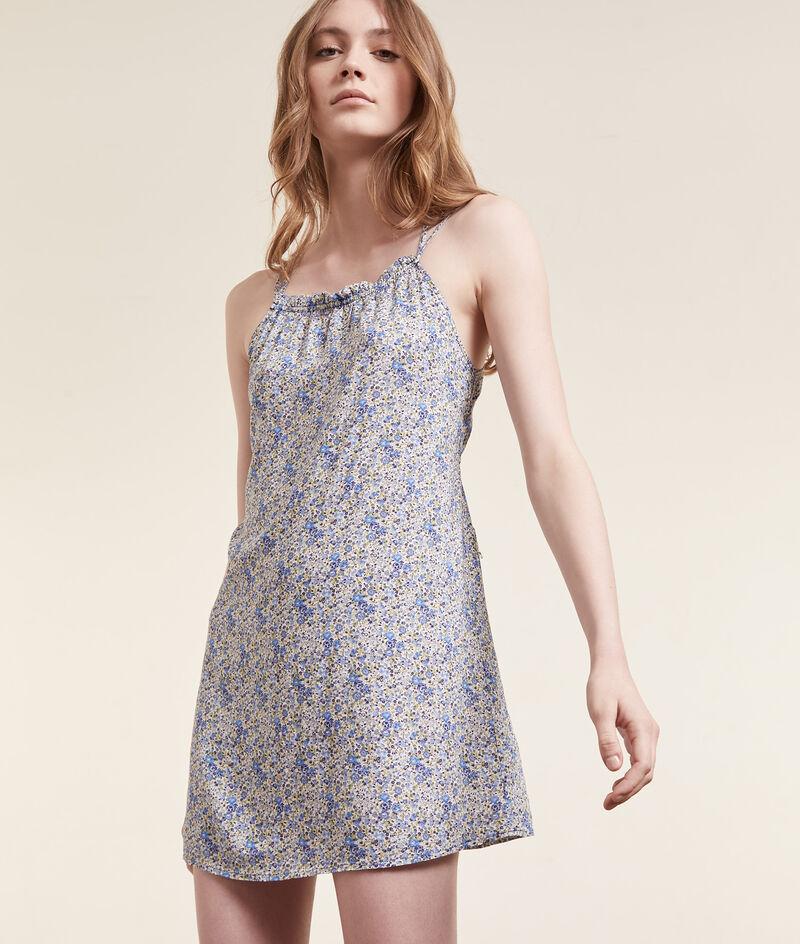 Платье с цветочным принтом Liberty Fabric;${refinementColor}