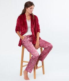 Пижама тройка красный.