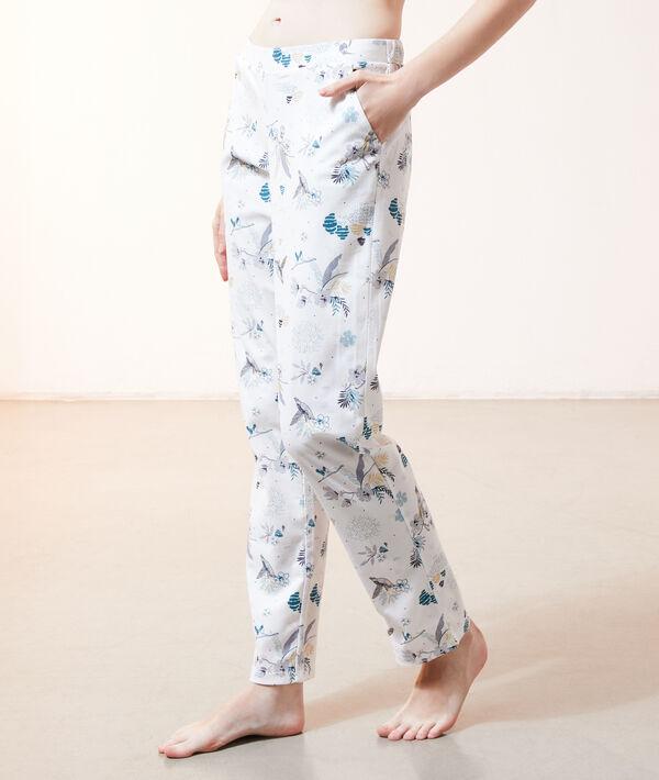 Пижамные брюки с принтом птиц - RICK - Разноцветный - M
