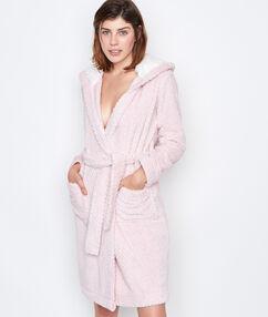 Плотный халат из плюша rose.
