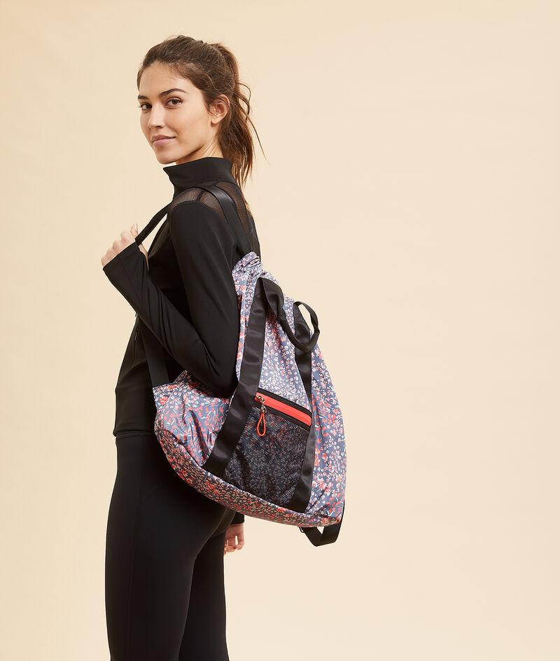 Спортивная сумка с цветочным принтом;${refinementColor}