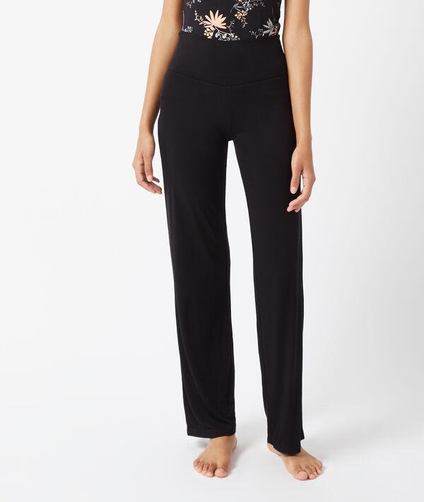 Струящиеся брюки из вискозы;${refinementColor}