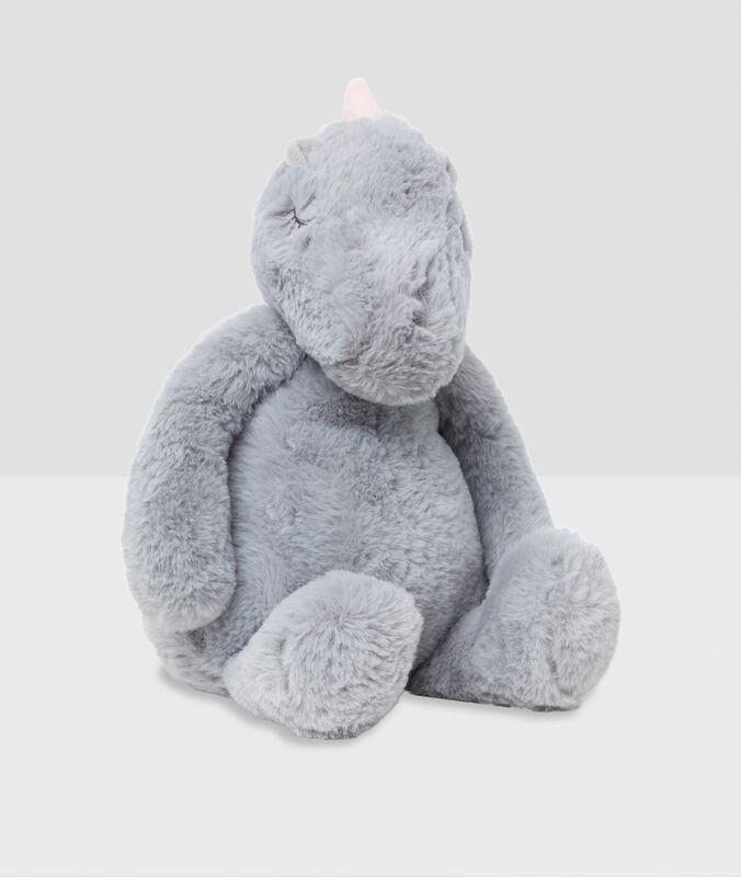 Сумка-игрушка «динозавр» серый.