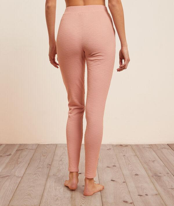 Зауженные брюки в рубчик;${refinementColor}