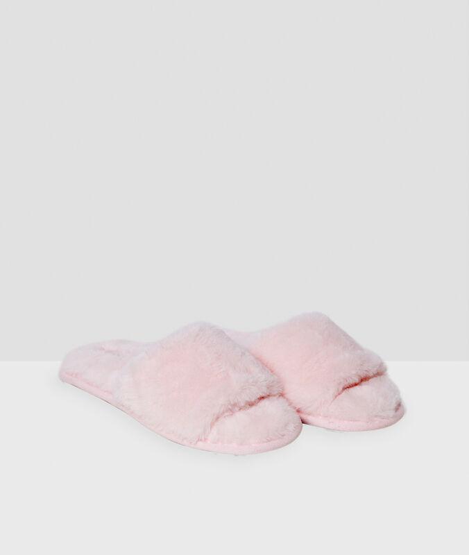 Тапочки розовый.