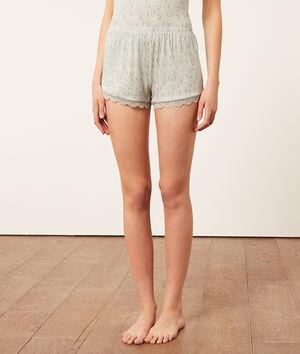 Пижамные шорты с принтом;${refinementColor}