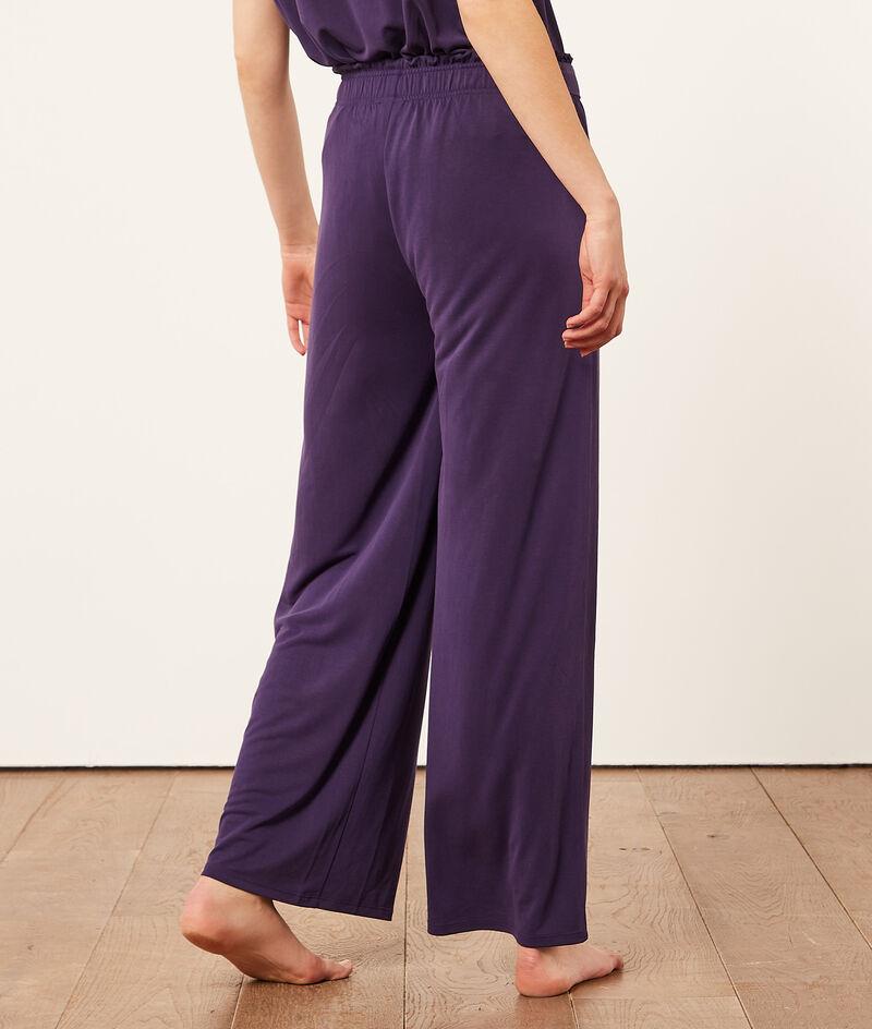 Пижамные брюки с поясом;${refinementColor}