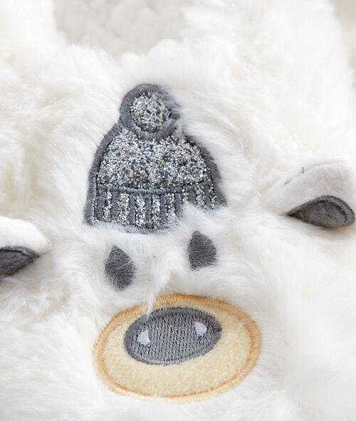 Домашние тапочки в виде медвежат