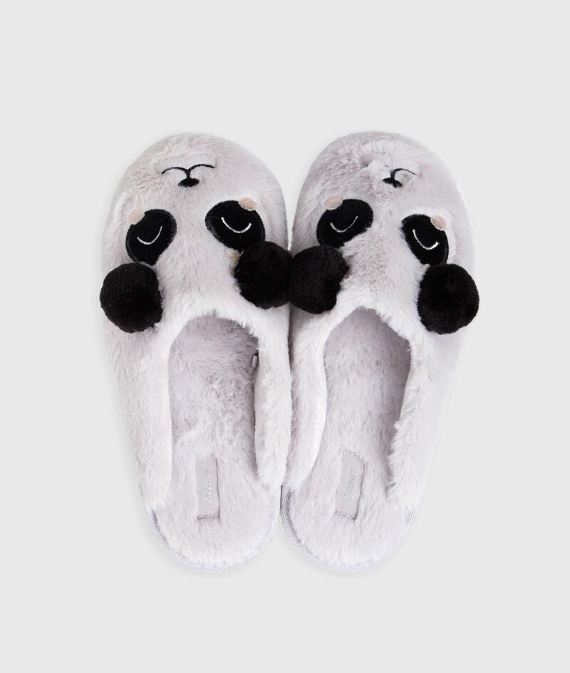 Тапочки с пандами;${refinementColor}