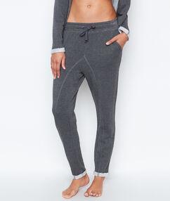 Домашние брюки серый.