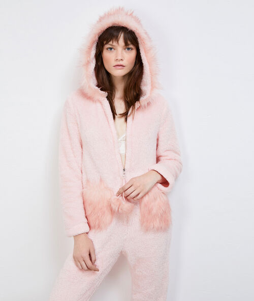 Пижама-комбинезон в виде страуса