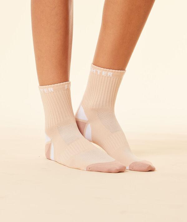 Носки с контрастными вставками;${refinementColor}