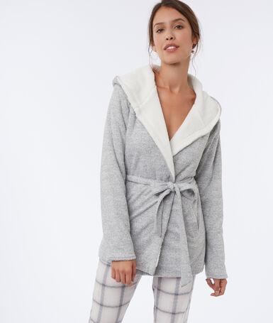 Куртка для дома серый.