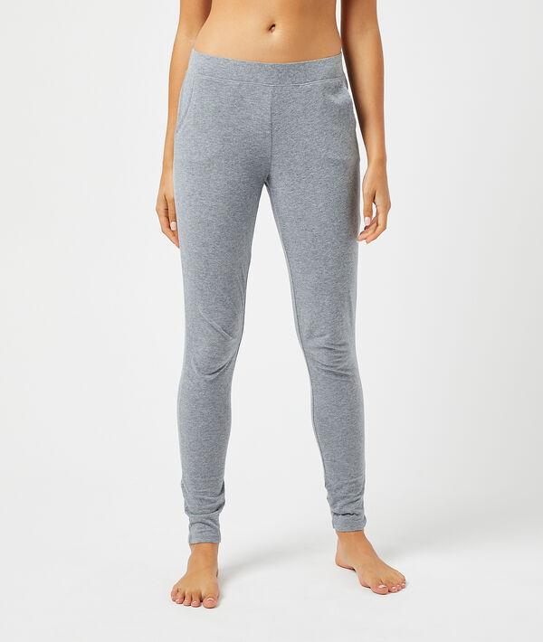 Пижамные брюки с объемной мордочкой белки;${refinementColor}
