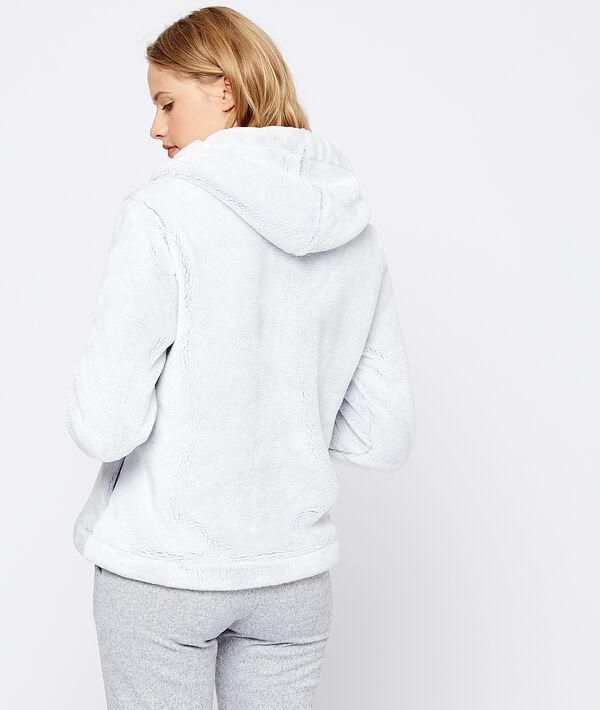 Куртка с капюшоном из искусственного меха;${refinementColor}