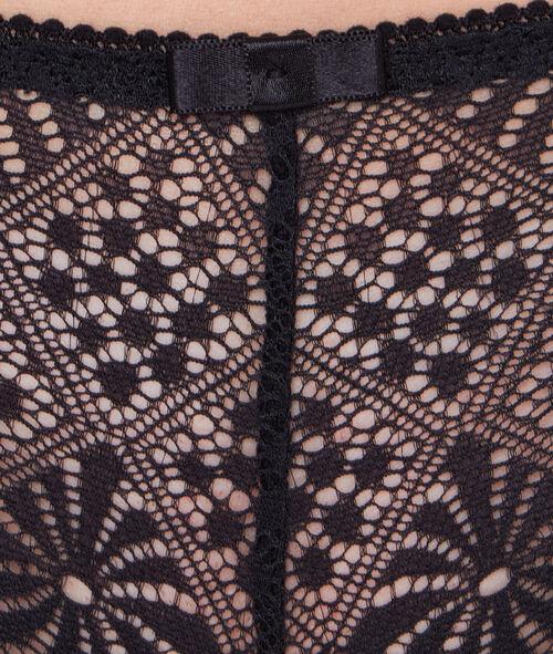 Трусики-шорты графическое кружево