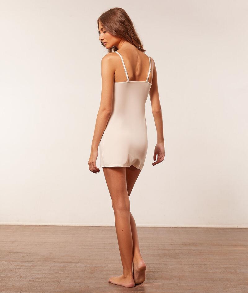 Платье-комбинация  из термо ткани;${refinementColor}