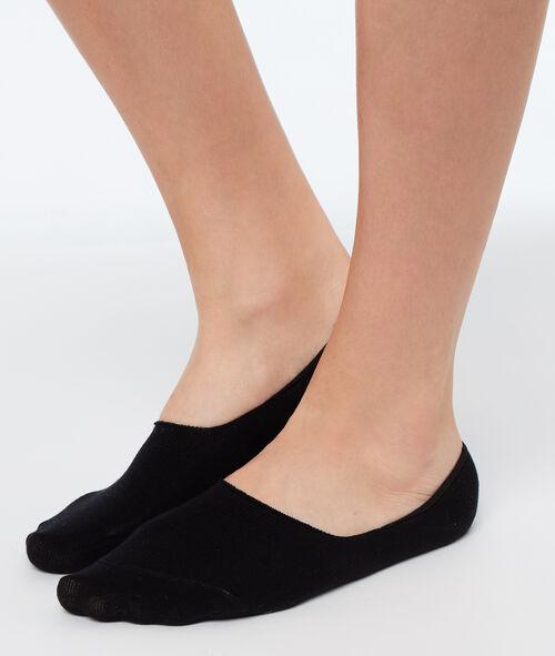 2 пары невидимых коротких носков