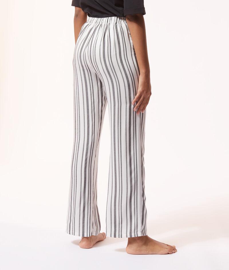 Pantalon de pyjama à rayures;${refinementColor}