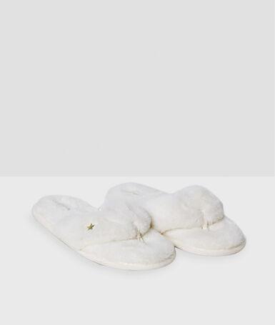 Тапочки белый.