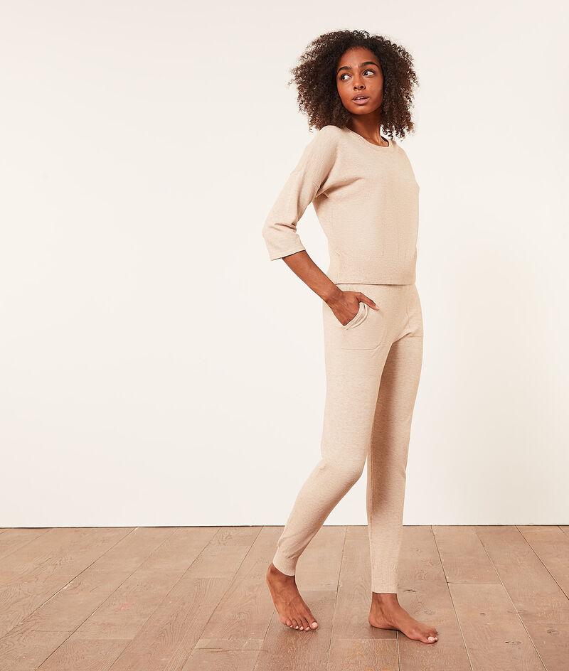 Трикотажные пижамные брюки;${refinementColor}