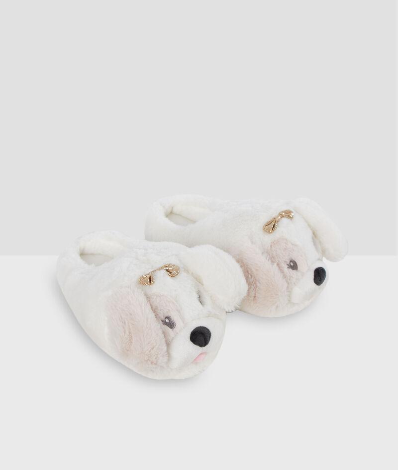 Домашние тапочки - объемные собачки;${refinementColor}