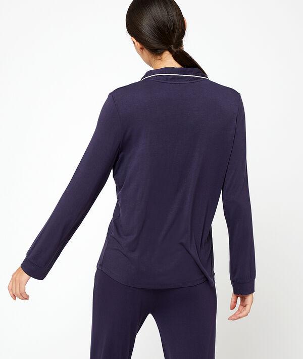 Рубашка из вискозы;${refinementColor}