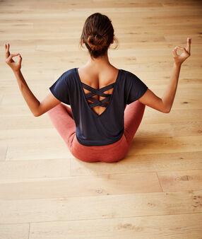 Майка 'yoga therapy' антрацит.