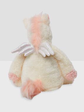 Сумка-игрушка для пижамы «единорог» экрю.