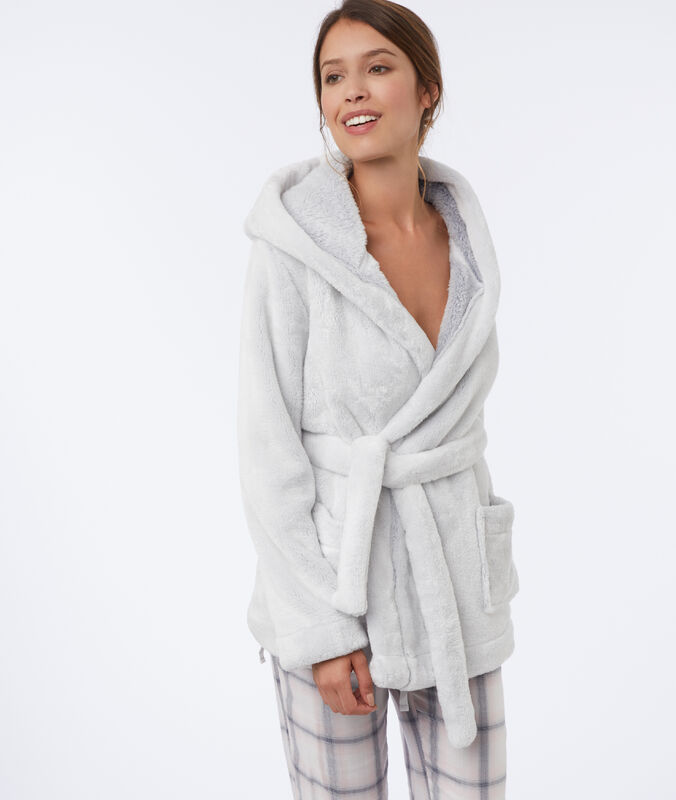 Куртка из искусственного меха   белый.
