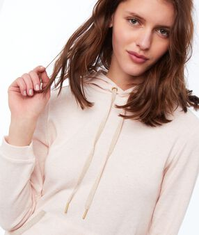 Ночная рубашка с капюшоном бледно-розовый.