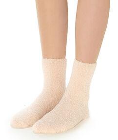 Плотные носки бледно-розовый.