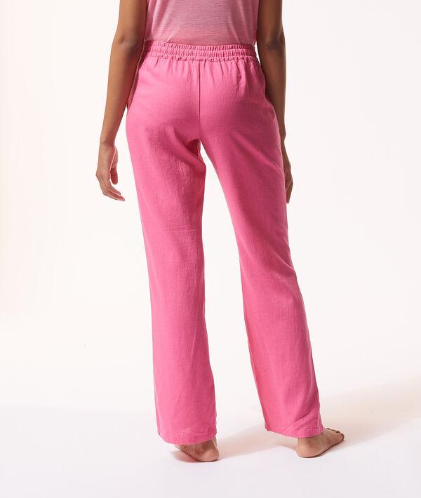 Пижамные брюки на кулиске;${refinementColor}