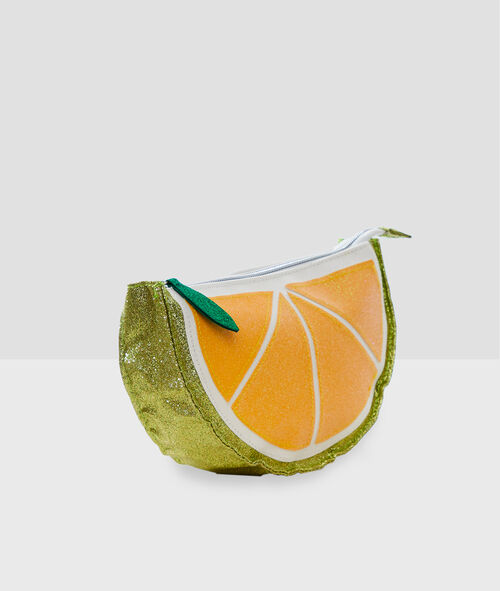Косметичка лимонного цвета