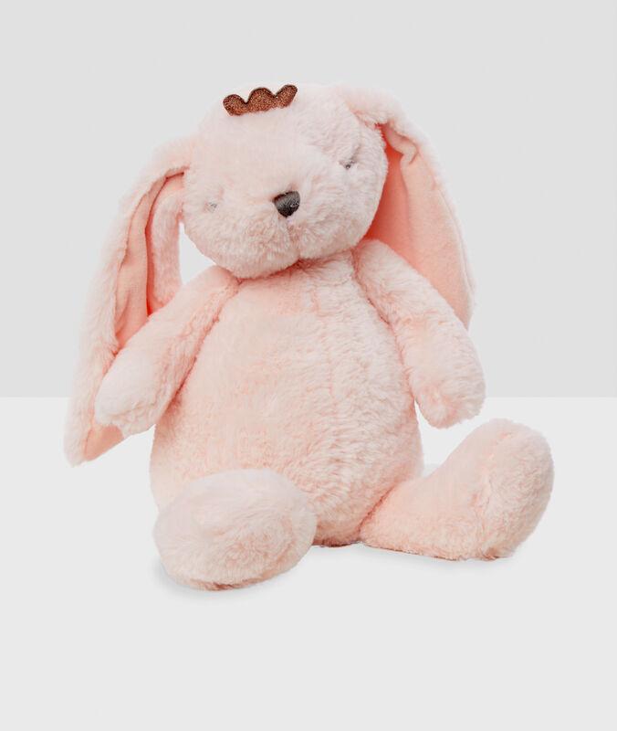 Сумка-игрушка для пижамы «заяц» розовый.