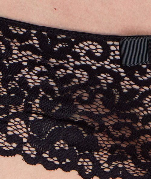 Трусики-шорты кружевные