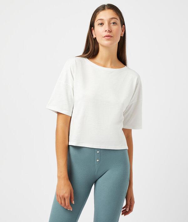 T-shirt uni - TENOR - BLANC - S