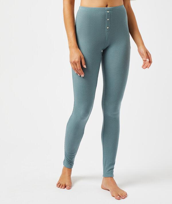 Pantalon côtelé - TEO - CELADON - L