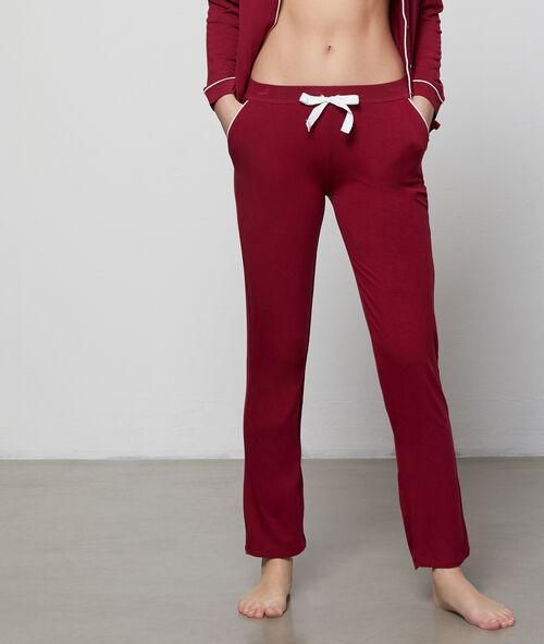 Pantalon de pyjama noué