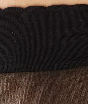 2 пары коротких носков из легкой ткани черный.