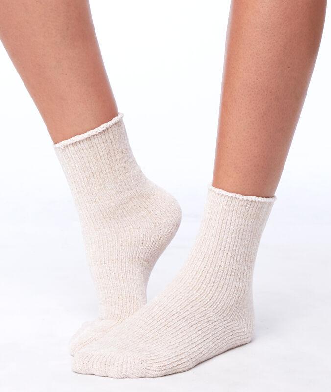 Мягкие носки розовый.