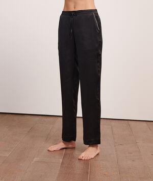 Пижамные брюки из шелка;${refinementColor}
