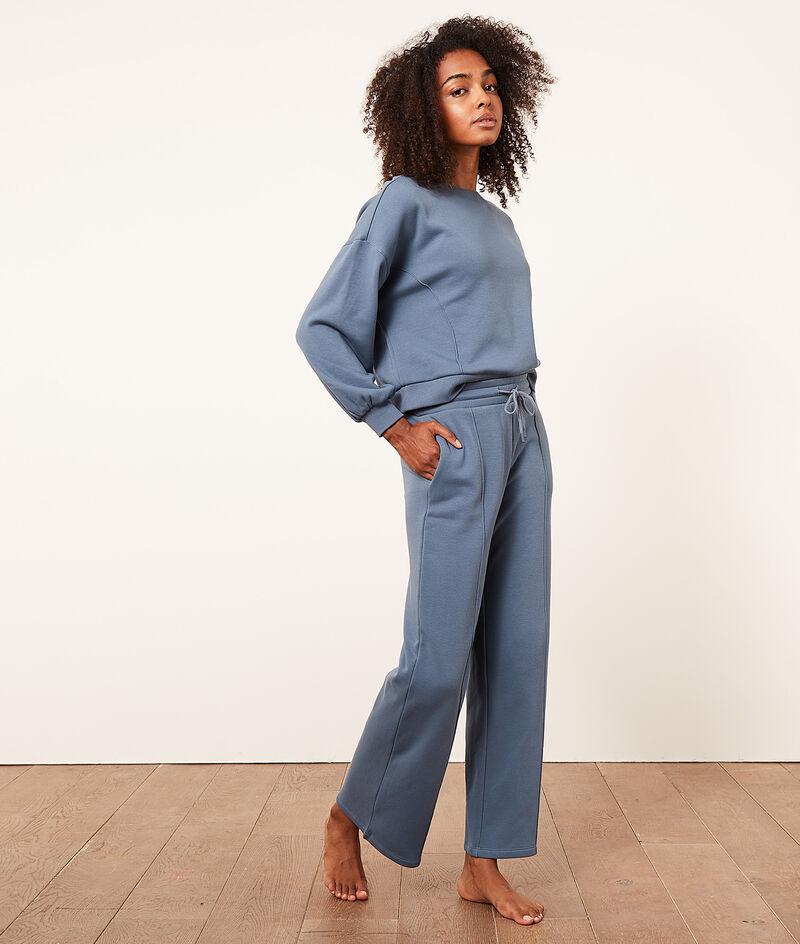 Пижамные брюки широкого кроя;${refinementColor}