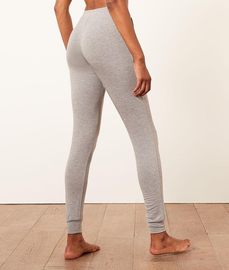 Пижамные брюки зауженного кроя;${refinementColor}
