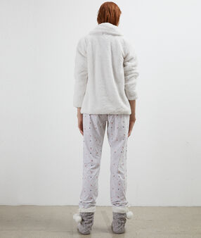 Пижама из 3 предметов для сна экрю.