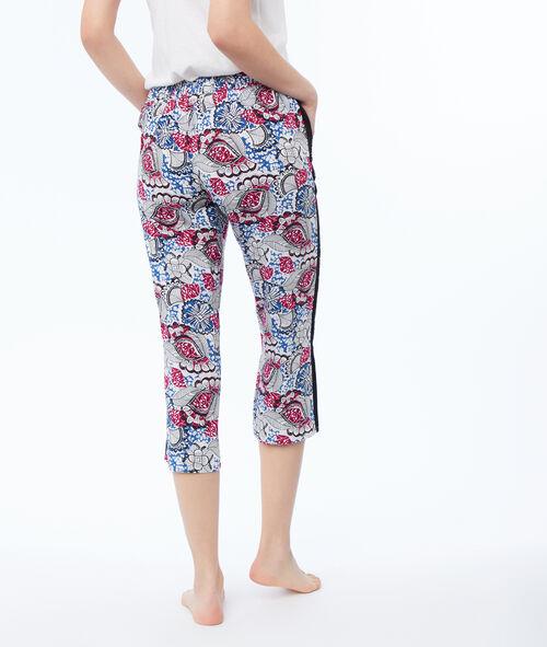 Короткие штаны с принтом