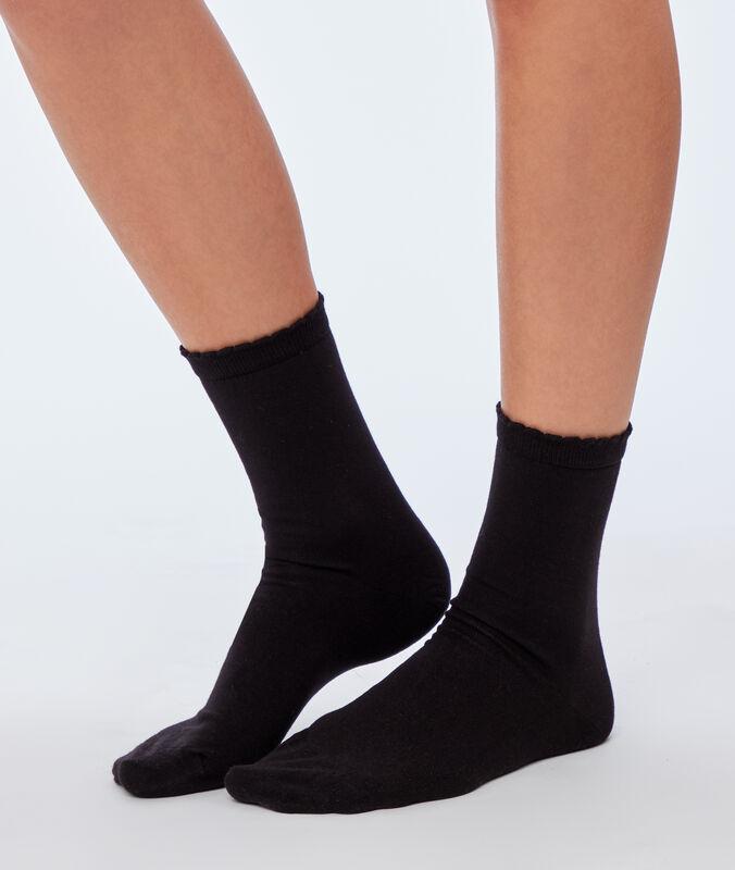 2 пары носков черный.