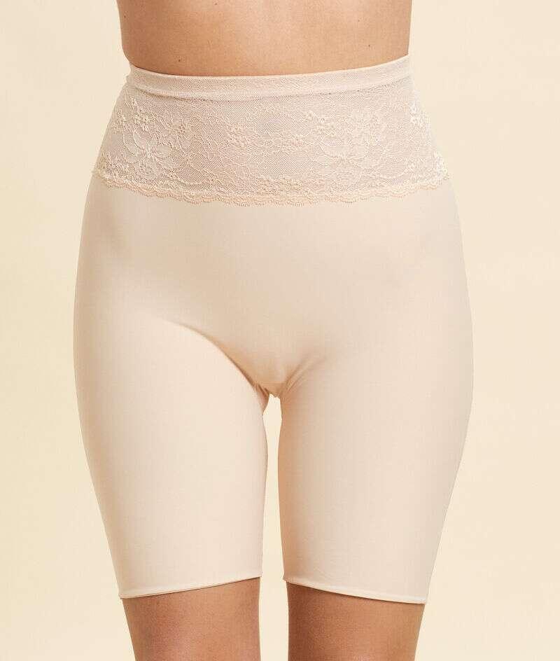 Panty sculptant, détails dentelle - Maintien médium;${refinementColor}